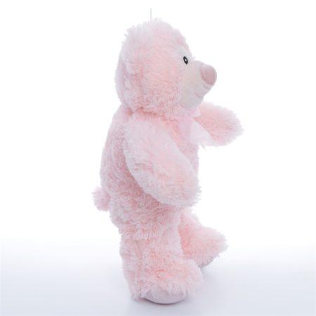 Мишка Кузя розовый 40 см