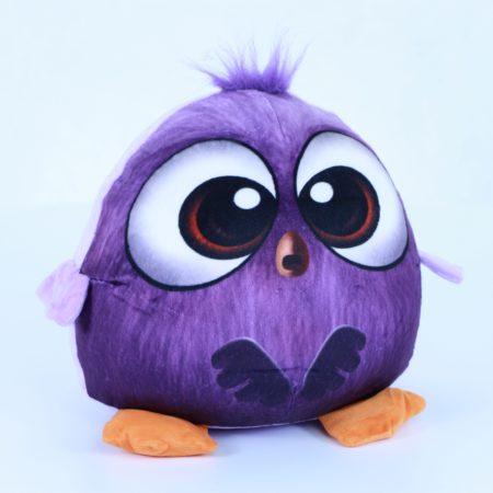 Птичка фиолетовая 27 см