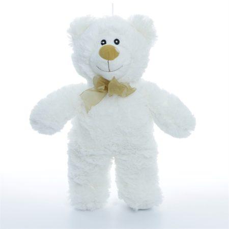 Мишка Кузя белый 40 см