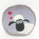 """Подушка круглая """"Влюбленная овечка"""" 40 см"""