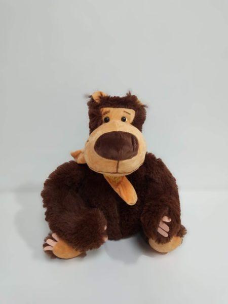 Миша коричневый с шарфом 45 см